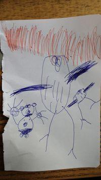 2018-11-25--dibujo-Julia--niña-braquitas-buhos.jpg