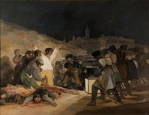 El Tres de Mayo, by Francisco de Goya, from Prado thin black margin.jpg