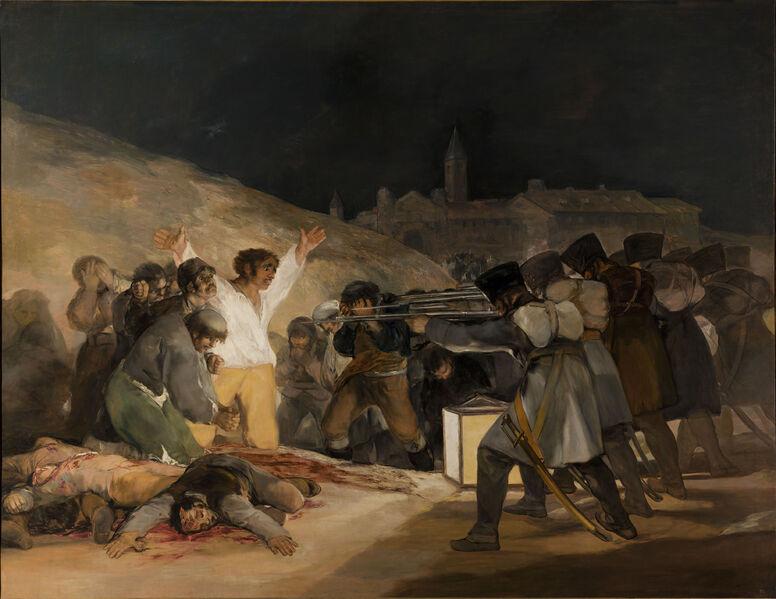 File:El Tres de Mayo, by Francisco de Goya, from Prado thin black margin.jpg
